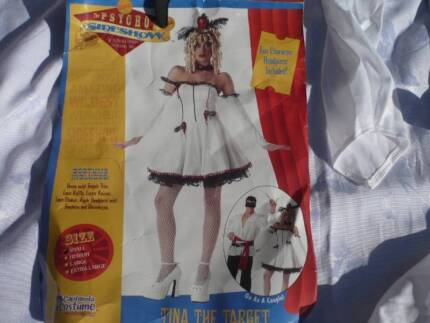 halloween or fancy dress outfit. Tina the Target. size 8-10