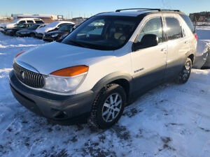 2002 Buick Rendezvous All Wheel Drive
