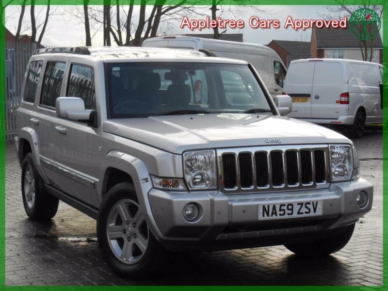 2009 (59) Jeep Commander 3.0 CRD V6 Limited Automatic