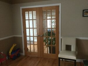 FRENCH OAK DOORS(no hardware)