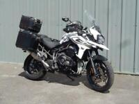 TRIUMPH TIGER 1200 XRT TOURING COMMUTING MOTORCYCLE