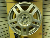 "NOS Genuine VW 16"" alloy wheels."