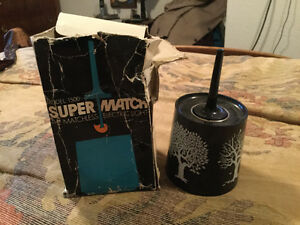 FURTHER REDUCED! Vintage Super Match for sale