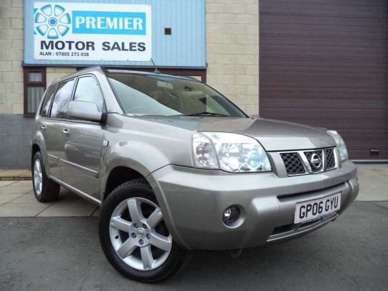 2006 nissan x trail 136 columbia sat nav 6 mths warranty in winchcombe. Black Bedroom Furniture Sets. Home Design Ideas