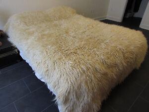 Wool Flokati en laine