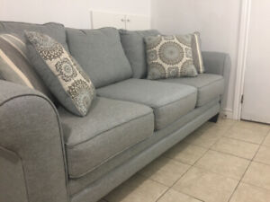 Tula Fabric Sofa / NEW Couch