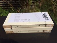 3 x IKEA Persby floating shelves 59 x 26cm brand new