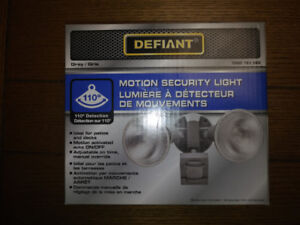 Outdoor Motion Security Wall Light x2