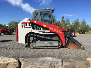 Takeuchi TL8 Track loader special pricing one unit $794.02 + HST