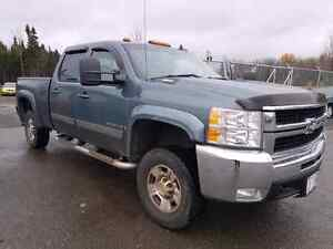2008 CHEVROLET CREW DIESEL 4X4 LEATHER
