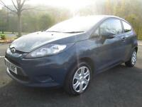 09/09 FORD FIESTA PLUS 1.2 3DR HATCH IN PEARL GREEN WITH ONLY 65,000 MILES