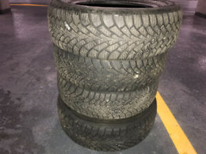 Good Year Tires solid treads.