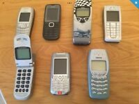 7old mobile phones