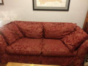 FREE DELIVERY Sofa couch and two accent chairs
