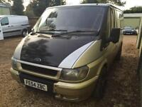 FORD TRANSIT 260S 85ps swb, silver, leather captain seats, Silver, Manual, Dies