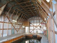 BOATHOUSE 45 x 21 (excellent) PRICE - CONDIDTION - LOCATION – Si