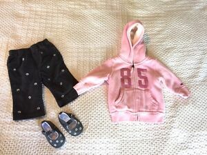 Baby girl clothes 6 months - 10 items London Ontario image 1