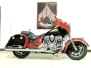2015 Indian Motorcycle Chieftain Indian Red/Thunder Black