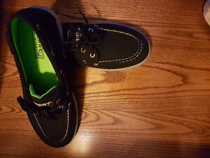 Brand New Sperry Top Sider Black Shoes