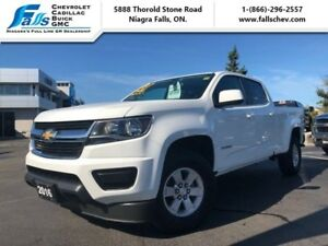 2016 Chevrolet Colorado WT  CREW,V6,SPRAY IN BEDLINE,ONE OWNER