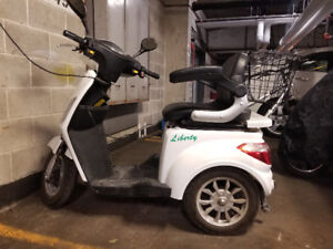 2017 LIBERTY ELECTRIC MOBILITY TRICYCLE  SCOOTER FOR SALE - $600