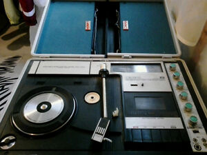 Vintage Crown record player/stereo