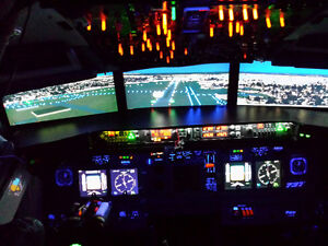 Flight Simulator Boeing 737 Everyone can Fly..BEST OFFER TAKES Edmonton Edmonton Area image 1