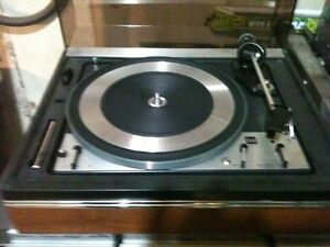 Fresh from a Complete Restoration Vintage DUAL Turntable...