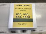 1050 John Deere Technical Service Shop Repair Manu picture