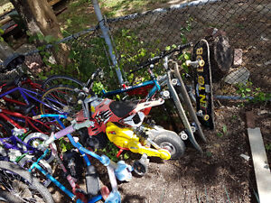 Used bikes and parts