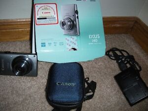 LIKE NEW CANON IXUS 140 WITH HD, IS , WIFI 16.0MEGAPIXELS