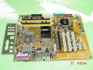 P5GD2-X ASUS USED MOTHERBOARD IN EXCELLENT CONDITION