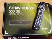 Shaw HDPVR and cable box
