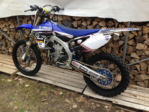 2013 YZ450f with ownership