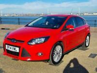 2014 Ford Focus 1.0 125 EcoBoost Zetec 5dr HATCHBACK Petrol Manual