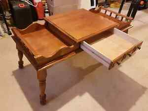Tiered coffee table with drawer Windsor Region Ontario image 2