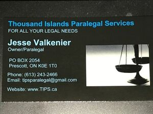 Thousand Islands Paralegal Services