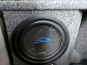 Sub woofer with amp