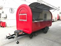 Mobile Catering Trailer Burger Van Pizza Trailer Ice Cream Cart 3400x1650x2300