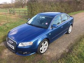 2005 Audi A4 3.0 TDI S Line Saloon 4dr Diesel Automatic Quattro (226 g/km,