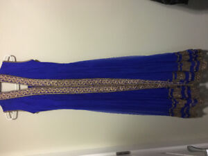 Indian Suit - Royal Blue Anarkali