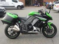 Kawasaki Z1000SX ABS Tourer 2016 Model Green Just 4460 MIles