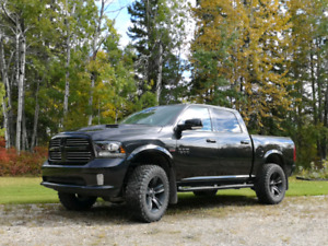 2015 Ram 1500 Sport Black Lifted