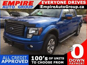 2011 FORD F-150 XLT * 4WD * LEATHER * REAR CAM