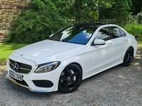 2015 Mercedes-Benz C Class 2.1 C250d AMG Line (Premium Plus) 7G-Tronic+ (s/s) 4d