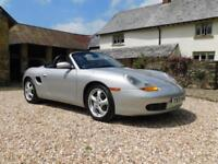 Porsche 986 Boxster 2.5 - superb original condition, low miles, new clutch/RMS