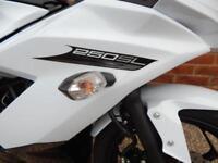PRE REGISTERED KAWASAKI Z250SL MOTORCYCLE