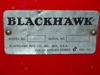 BÉLIER Hydraulique Pneumatique BLACKHAWK 10 TONNES