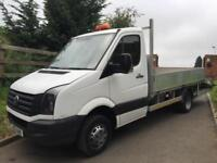 VOLKWAGEN CRAFTER CR50 163bhp PLANT BEAVERTAIL 12 REG