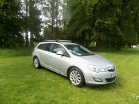 2010 Vauxhall Astra 1.7CDTi 16v ( 110ps ) Exclusiv estate netherton cars